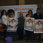 @CsGranada como en las campanadas empieza esta campaña cargado de ilusión. Con @joseafunesCs y @silviamtorresc 1 y 2. http://t.co/QCuQR3HEpT