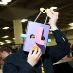 This week at GDC, clever games use handcrafted, one-of-a-kind controllers http://t.co/6if4aZ4zNV http://t.co/a5xNpFjNpx