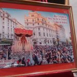 Este es el cartel de la hermandad de los Dolores presentado este jueves en el Colegio Mayor San Bartolomé y Santiago http://t.co/n2MAYnoQem