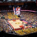 Greatest Basketball Arena •Round of 32•  RT ~ Hilton Coliseum Fav ~ Matthew Knight Arena http://t.co/yM2bwhT9qE