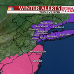 UPDATE! Warnings end for Central NJ, still in effect for Jersey shore. Advisories for slick roads around #NYC! http://t.co/4GS4gnphcs