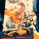 Big day for @RyanHunterReay as his #Indy500 ticket is unveiled. #IndyCar http://t.co/IxpKg6HqKJ
