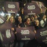 Podemos Andalucía, Podemos Granada..@serranojoseluis vamos a cumplir el programa, vamos a ganar #PegandoElCambio http://t.co/Gr4LyV9zqW