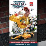 .@ims just unveiled the 2015 #Indy500 ticket featuring @RyanHunterReay! What do you think? #IndyCar http://t.co/DkmhIoKx2s