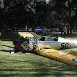 BREAKING: MORE: Harrison Ford seriously injured when his plane crash lands in California http://t.co/z1ME5JwXAz http://t.co/nTXGk5oz6r