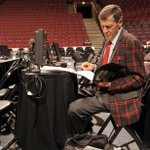 Craig Sager prepares for his return to @nbaontnt at 8pm/et! #WelcomeBackSager http://t.co/dNvqVP88Di