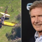 RT @ABC7: #BREAKINGNEWS: Harrison Ford injured in small plane crash at Venice golf course http://t.co/YQBr2iDqXw http://t.co/aErGqBHKXL