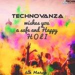 Technovanza wishes you a Happy Holi! May this holi add bright shades to your canvas of life! #HappyHoli#Technovanza http://t.co/UrqCteQhWq