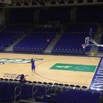 its midnight in Fort Myers & #ASunWBB POY Whitney Knight is getting shots up. #ASunMadnes starts tomorrow #WingsUp http://t.co/AkqF3OJIcp