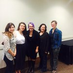 TRUSU Reps at the Vagina Monologues in #kamloops Congrats to the organizers on a great event! http://t.co/DaEQKSB0Jn