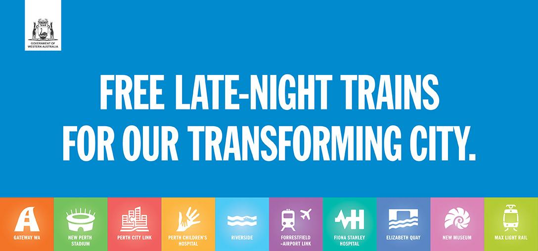 Free late night trains between 12.30am and 3am every weekend. For details visit http://t.co/EWGIIMydnL http://t.co/xvNrw2Tedi