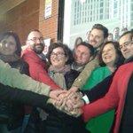 Unidos, fuertes e ilusionados. Orgullosos d formar parte dl equipo d @_susanadiaz para ganar en Andalucía el #22M http://t.co/v5gWy2N9hw