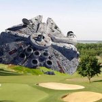 Another exclusive photo of #HarrisonFord crash in #LA golf course http://t.co/yfTCDgjrh5