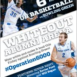 #Operation6000 tomorrow night when @UBmenshoops team goes for a MAC East title. http://t.co/u4WVQ5gBdI http://t.co/GUhGu1DTxs