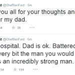 #HarrisonFords son @ChefBenFord tweets about his father from hospital http://t.co/kDDwMwSMsd http://t.co/5uUrjAsjDi