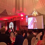 Becca plays a jig at #WeArePossibility @UnitedWayBH Awesome. #hamont http://t.co/n66yuxBniB