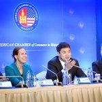 Ерөнхий сайд Ч.Сайханбилэг Монгол дахь Америкийн худалдааны танхимын гишүүдтэй уулзлаа http://t.co/3hRCbdWIgv http://t.co/KC8sEMhlGs