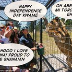 Ghanaians abroad vrs Ghanaians in Ghana  #GhanaIndependence http://t.co/LKQ5ma3Het