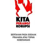 Semangat perangi korupsi!! http://t.co/jowUAP7SKO