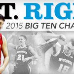 OUT. RIGHT. CHAMPS. #MakeEmBelieve #Badgers 👐 http://t.co/0H6TxUjdcZ