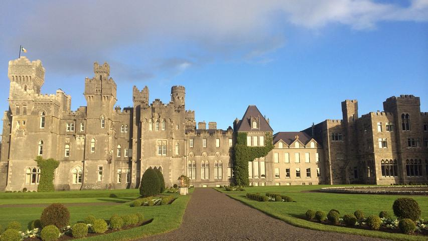 The @ashfordcastle (formerly the Guinness Castle) was just voted the best hotel in Ireland