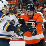 FINAL: PHI 3, STL 1 Schwartz scored early, but the Flyers mounted a third period comeback. #stlblues http://t.co/5aP64UJ11J