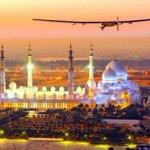 يستقبل مطار مسقط الدولي يوم الاثنين المقبل طائرة سولار أمبلس 2 وهي أول طائرة من نوعها في العالم تعمل بالطاقة الشمسية. http://t.co/N8NL8Kkzwt