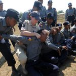 EU police training #Burma counterparts in crowd management last year. #Myanmar http://t.co/FGbdRO0LJG