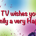 Happy #Holi Enjoy the spirit of the colourful festival. http://t.co/C3JeC270Ou