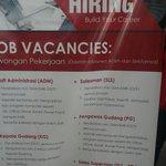 Lamar loker ini hanya di jobfair @cdcunsyiah @iloveunsyiah @InfoKerjaAceh @Warta_Unsyiah @iloveaceh @beritaaceh http://t.co/5xFstcygJk