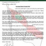 PAS Melarang Ahlinya Sertai Demo #kitalawan DAP Melarang Ahlinya Sertai Demo #kitalawan @rozanazen @KEADILAN #pkr http://t.co/H3NEsetOAr
