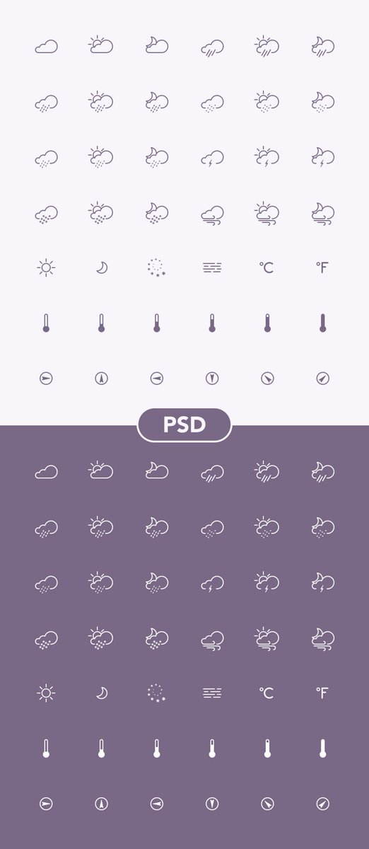 FREE - Weather Icons - SuperManMockups http://t.co/zx7U7v81cY http://t.co/2AB7ibRt6a