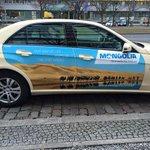 Берлинд таксинууд нь хүртэл ийм болсон байна. Монголын сурталчилгаа хангалттай сайн явагдаж байна харин ирсэний дараа http://t.co/sMW714EHlL
