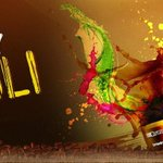 May life colour you with Happiness, Joy and lots of love... #HappyHoli http://t.co/RGV8Ls4owO