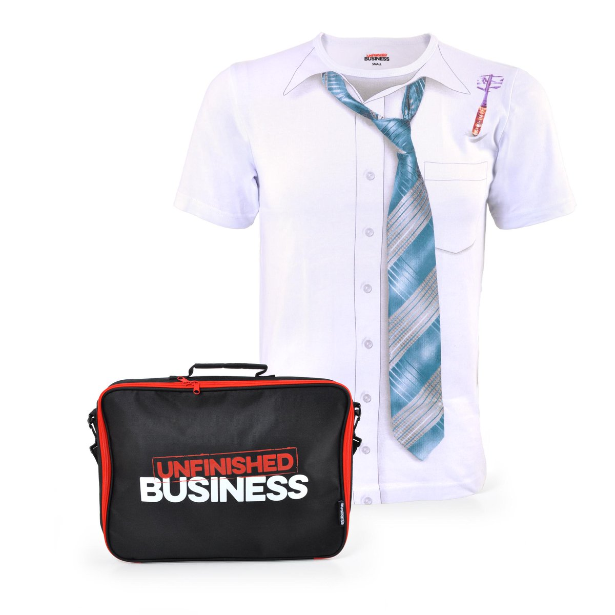#UnfinishedBusiness is in cinemas today! RT for your chance to #win one of three t-shirts & laptop cases, like a boss http://t.co/IJouYoszgl