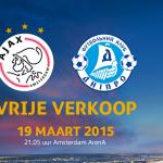 Vrije verkoop #Ajax - Dnipro is begonnen! Ben jij erbij? Tickets & info: http://t.co/PIe5bXsRvG. #UEL #ajadni