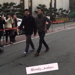 [HQ PIC] 150306 KBS Building - Siwon also came to watch D&Es comeback stage at Music Bank! (Cr:@lovely_eunkyu) http://t.co/PbZaVvnY8I