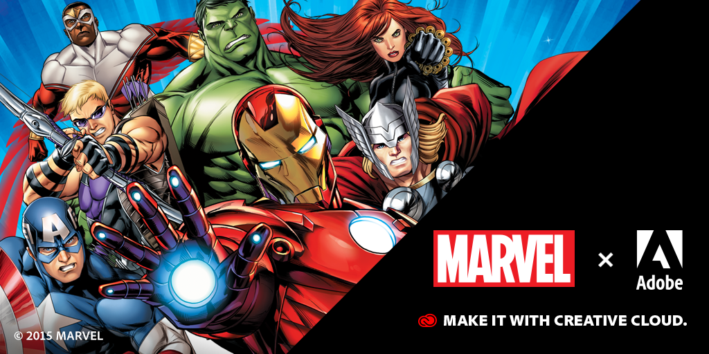 Students assemble! Adobe & Marvel are looking for creatives for a huge opportunity! More info: http://t.co/4ozWkPtgOO http://t.co/tHHTBoGkRR