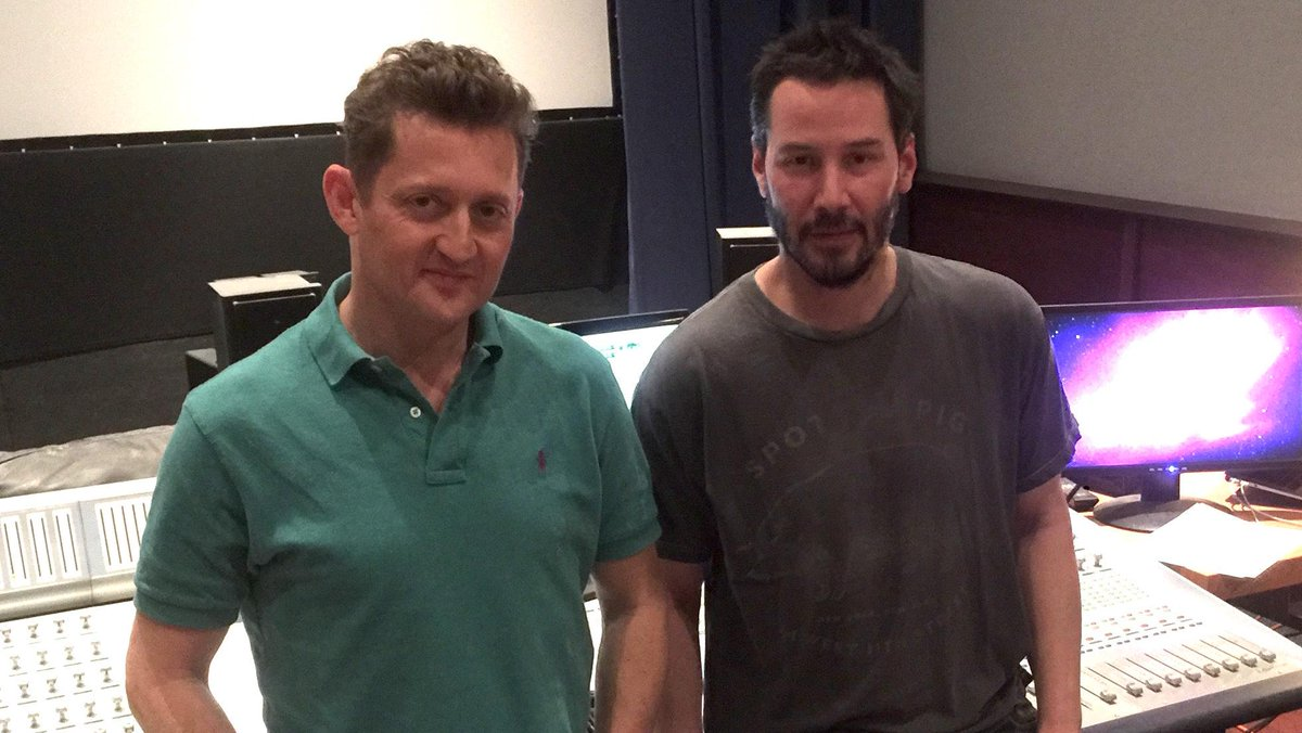 Keanu Reeves Narrating 'Bill & Ted' Co-Star Alex Winter's 'Deep Web' Doc (Exclusive)