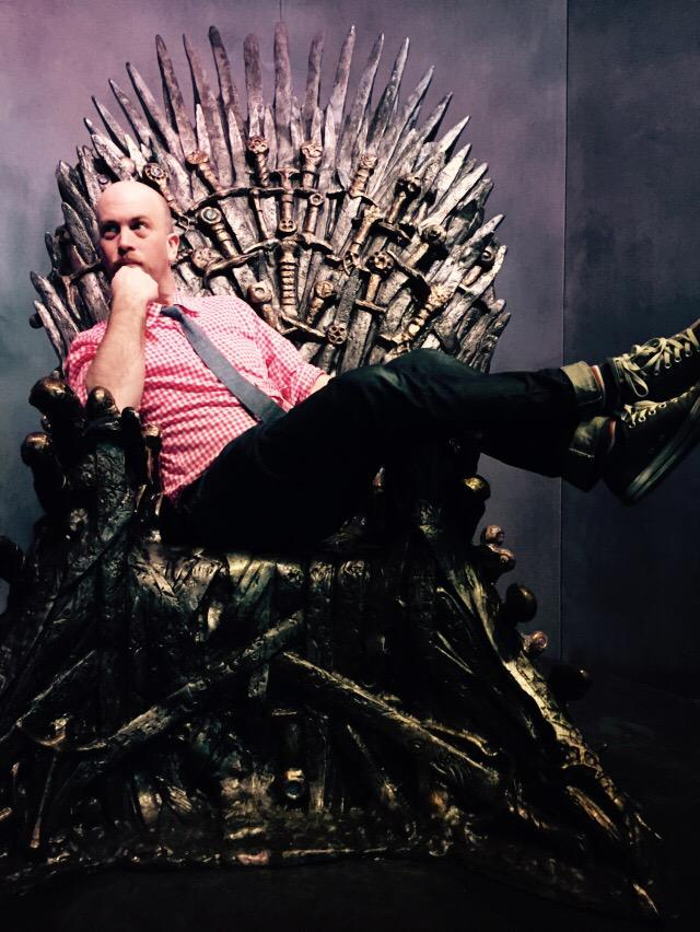 """A king should never sit easy"" #GoT #GeekOut #SXSWesteros #SXSW http://t.co/zkIU3mkQXl"