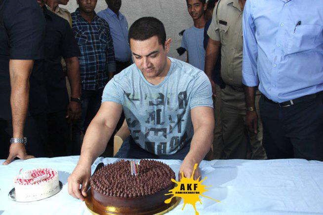 50, Not Out! The many faces of the actor.  Happy Birthday Aamir Khan