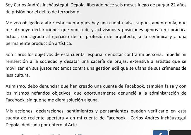 OJO: Este es el verdadero twitter de Carlos Inchaustegui @CinchausteguiD http://t.co/Tep1dsQmCG