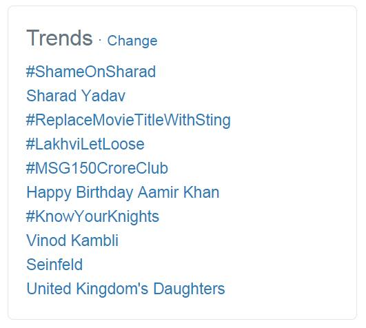 Happy Birthday Aamir Khan is Trending!   if you Love The Mr. Perfectionist Actor!
