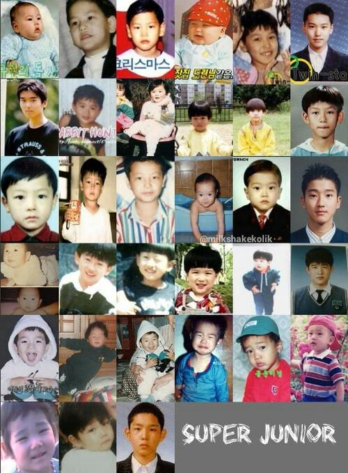 @AllRiseSilver is the cutest rt @yesungworld: Super Junior childhood , who's the cutest ? http://t.co/4DfgKYlPIp
