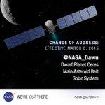 Confirmed: I am in orbit around #Ceres http://t.co/BeOfCBefeM http://t.co/b8FIZ8kZiK