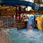 And theyre off! Soldiers from 2Lancs attempting to break a world record sliding for 24 hours at @SandcastleWater! http://t.co/KSPYcVj6a1