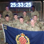 And theyre off! Soldiers from 2Lancs attempting to break a world record sliding for 24 hours http://t.co/uuaYTIuO6R http://t.co/GvOCOfMzFy