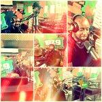 Keeping It Funky! @trigmaticrocks OnDa #mydmorningradioshow ????????What do want to see Ghana? #GhanaAt58 .. holla http://t.co/2TeiI45DEa