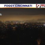 We are seeing some fog in Cincinnati. Check out this pic from our weekend director, Dan Williams. @wcpo #CincyWx http://t.co/yjEtIS9hO0