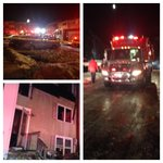 Family rescued in Edgewood in #HarfordCounty. Tough work for #firefighters...icy & cold. @wbaltv11 http://t.co/1AclzOMC1o